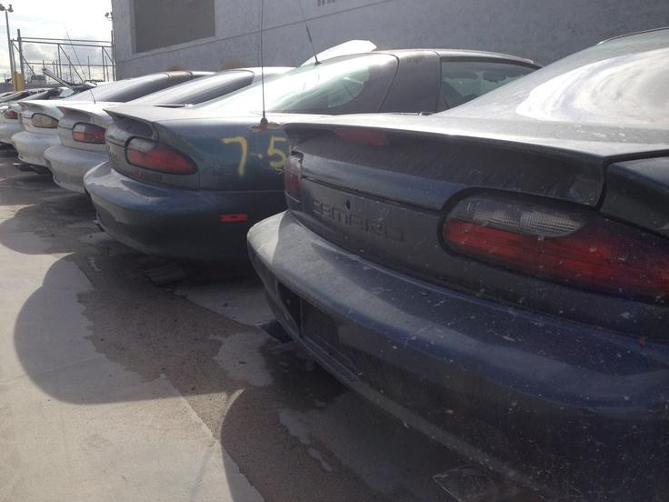Camaro Wrecking Yards : Camaro car salvage yards autos post