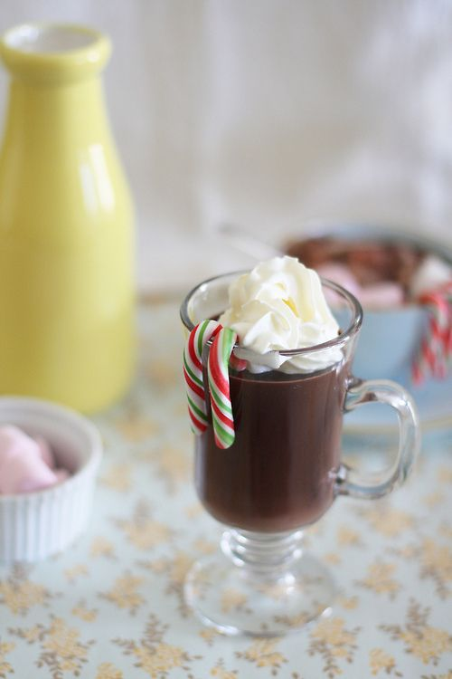Italian thick and creamy peanut butter hot chocolate. #drinks