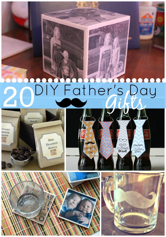 diy father's day picture frame