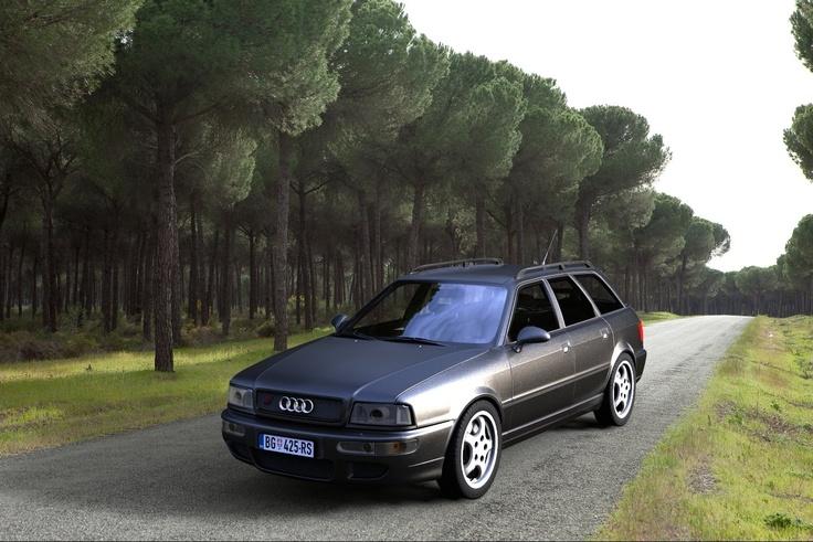 1995 Audi Rs2 Avant 3d Cars Pinterest