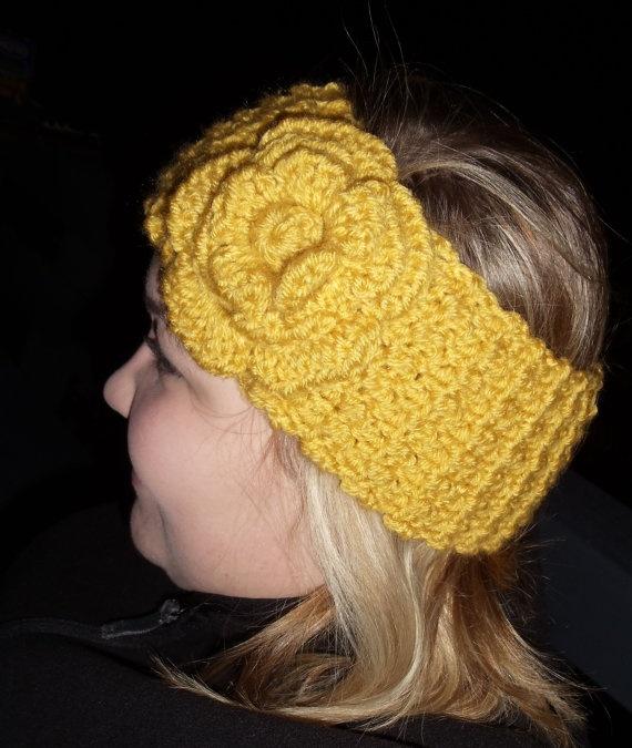 Crochet Ear Warmer! Must have! Crochet Pinterest