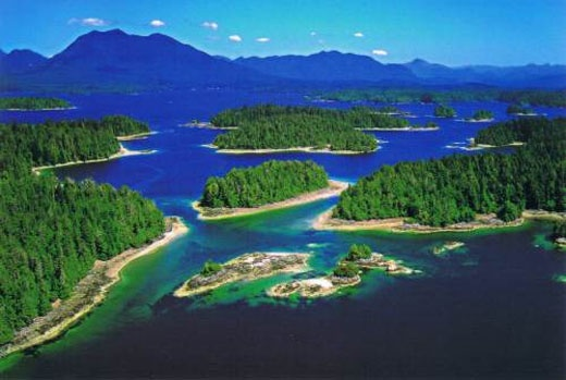 Broken Group Islands At Pacific Rim National Parks