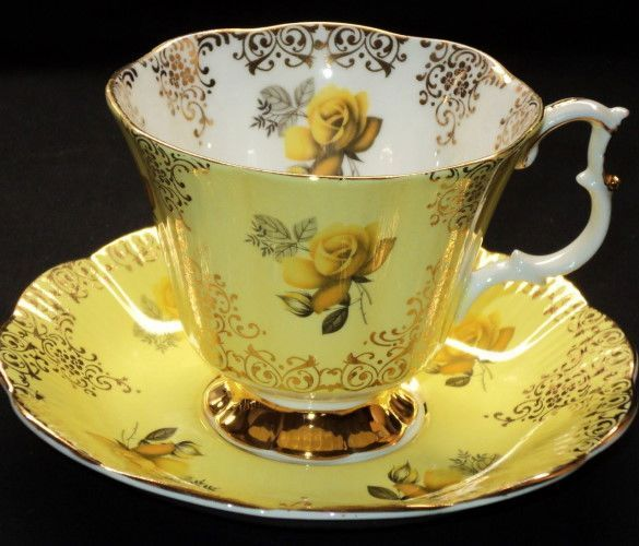 Royal Albert Yellow Roses
