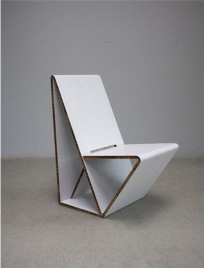 Vouwwow Cardboard Chair Cardboard Pinterest