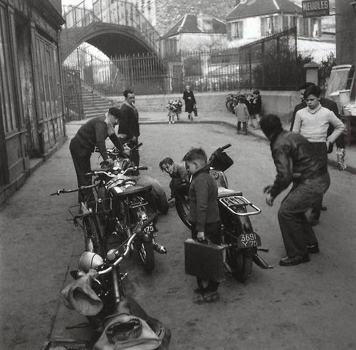 Robert Doisneau - Paris 1953.