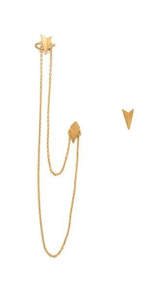Shop now: Maria Black D'Or d'Arling Earrings