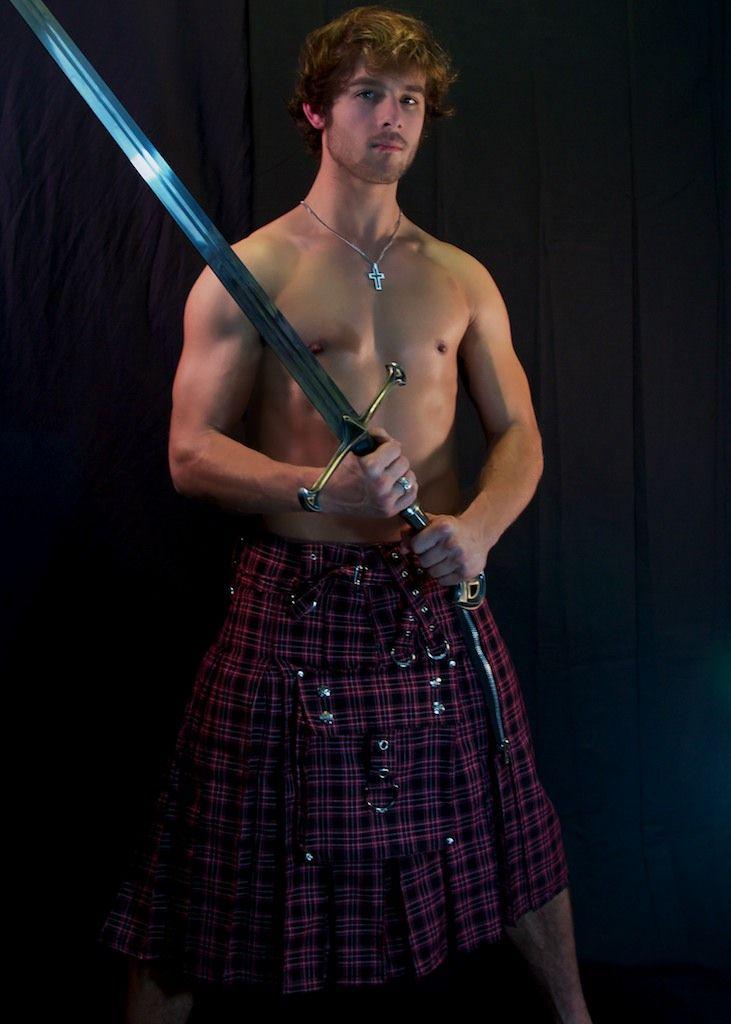 Quinn Jaxon, as Scottish Highlander | Menzies | Pinterest