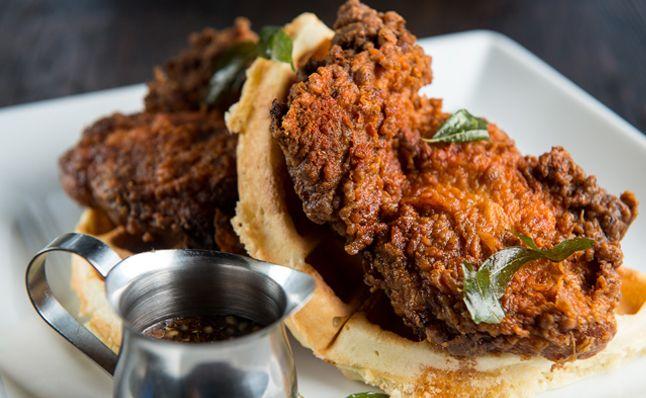 Chicken & Waffles | Cardamom Hill | Atlanta