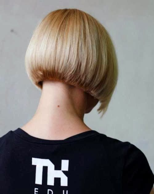 Short Inverted Bob Hairstyles Back View | Hairstyles and Makeup | Pin ...