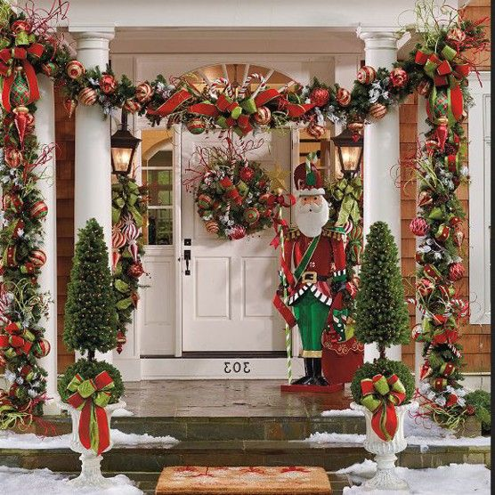 outdoor decorating ideas for christmas outdoor decor