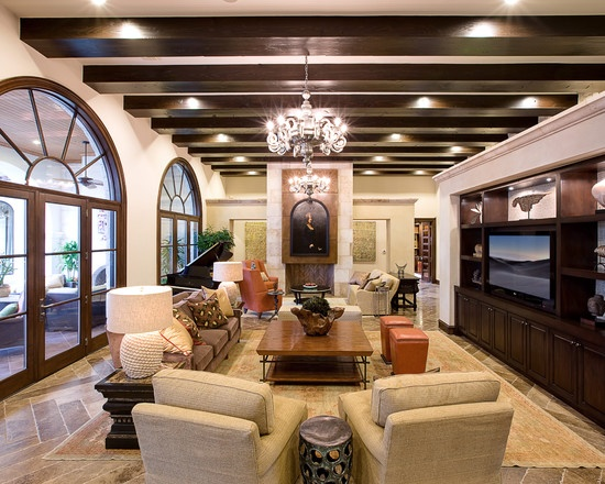Living Room Spanish Mission Interiors Design Pictures Remodel Decor And Ideas Page 16