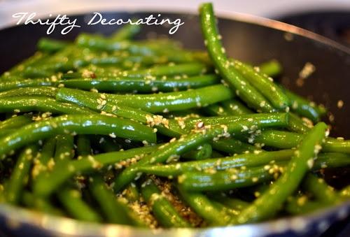 Sesame Green Beans   Recipes - Sides   Pinterest