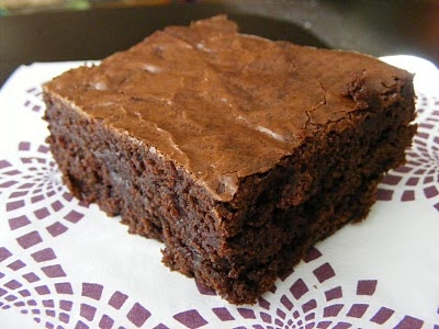 Chewy, Fudgy Triple-Chocolate Brownies | Sweet Eats: Brownies | Pinte ...