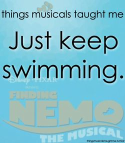 Things musicals taught me: Finding Nemo