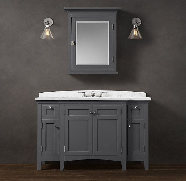 Pin by vicky umphryes murphy stroisch on new bath pinterest for Restoration hardware vanities bath