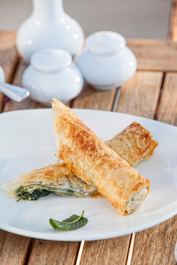 Spanakopita, Greek Spinach Pie | Vittles and Bits | Pinterest