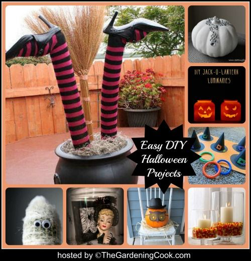 Easy halloween decor ideas for Easy diy halloween decorations