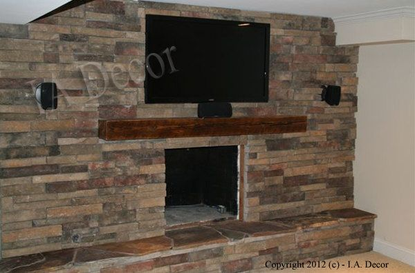 Barnwood Mantle Beam 6 X 6 X 48 Mantle Ready To Install Reclai