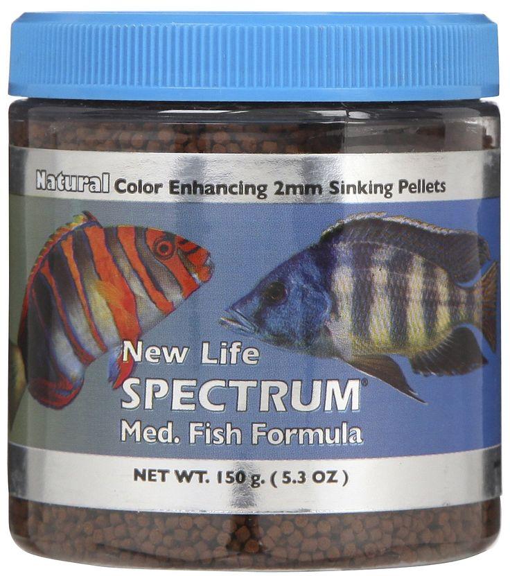 New life spectrum medium fish food pinx pets for New life spectrum fish food