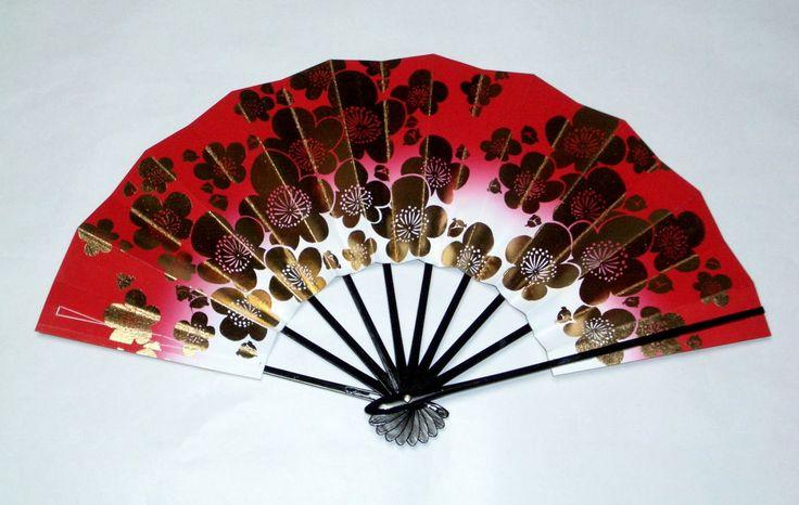Rakuten: 9 寸金梅 handbills (red shading off )☆ dancer's fan ...