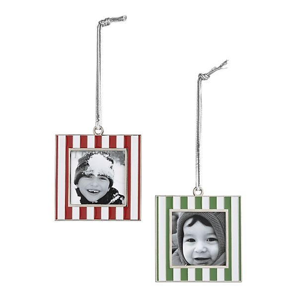 Christmas Tree Ornaments Picture Frames : Christmas tree ornaments picture frames holidays