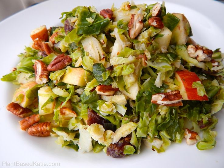 Brussel Sprouts with Apples and Pecans | Vegetables | Pinterest