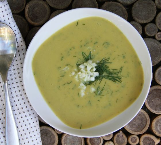 summer-split-pea-soup-fennel | Recipes to try | Pinterest