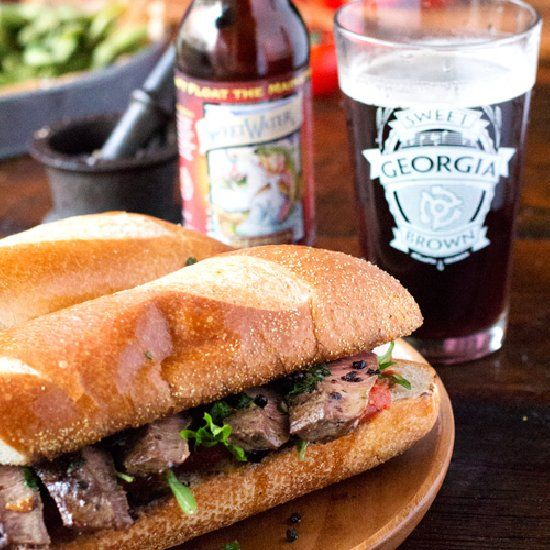 More like this: flank steak , steaks and steak sandwiches .