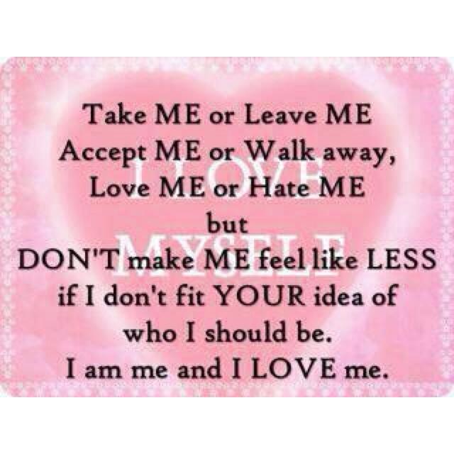 Love Myself!