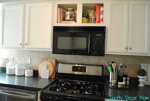 Storage Above Microwave SYSTEMATIZE Pinterest