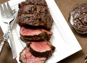 Roasted Beef Tenderloin with Henry Bain Sauce Recipe
