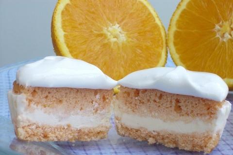 Orange Creamsicle Float Cupcakes | Orange Cream Dream | Pinterest