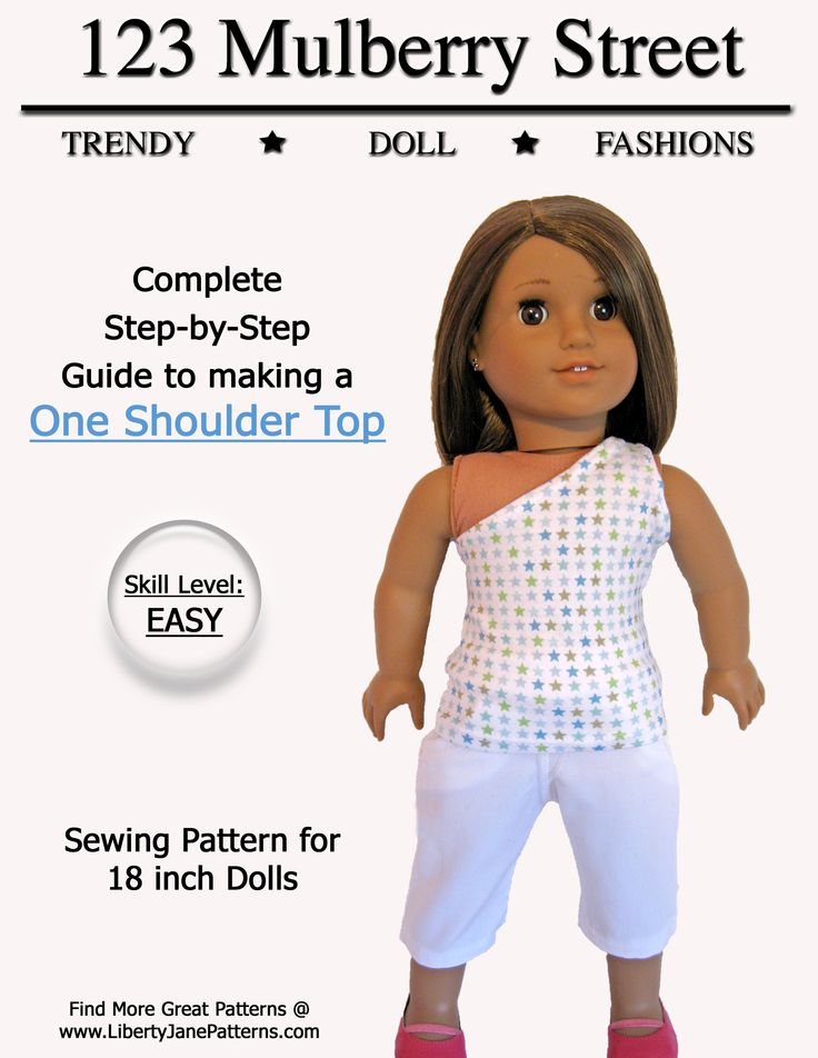 Free Printable Sewing Patterns For 18 Inch Doll Clothes Drive