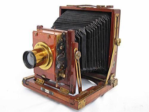 Antique large format camera | Antique Cameras | Pinterest