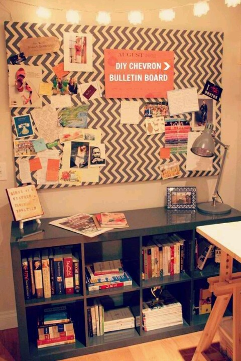 Large fabric covered bulletin board for the home pinterest for Diy fabric bulletin board ideas