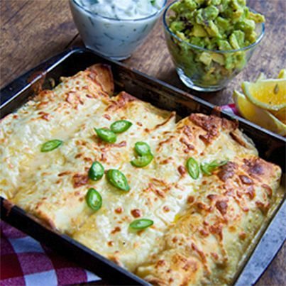 Chicken Enchiladas | HEALTHY RECIPES 24/7 | Pinterest
