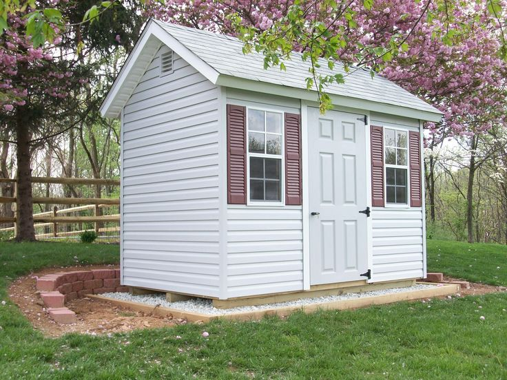 6x10 chalet storage shed chalet pinterest for Sheds storage buildings