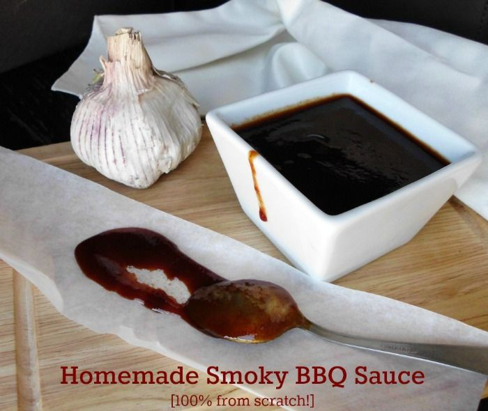 Homemade Sweet and Smoky BBQ Sauce | Best of Food Blogger Recipes | P ...