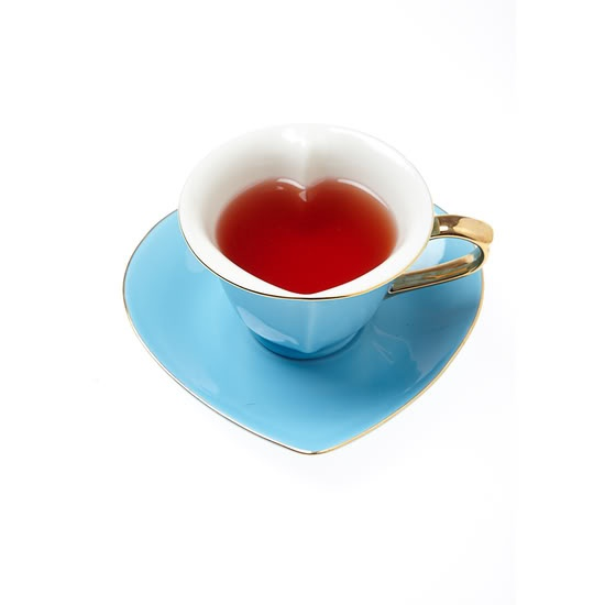 heart shaped tea cups ceramics and kitchenware