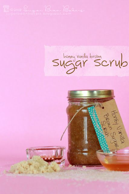 Sugar Bean Bakers: { Honey Vanilla Brown Sugar Scrub }