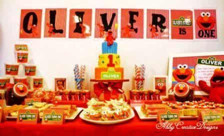 Elmo First Birthday Birthday Ideas | ... On Elmo 1st Birthday Party ...