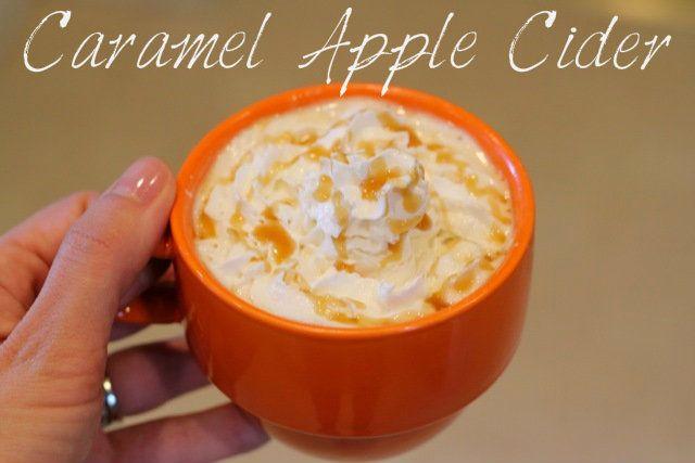 Caramel Apple Cider | Recipes | Pinterest
