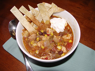 Green Chile Chicken Tortilla Soup | So Many Recipes, So Little Time ...