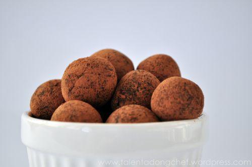 Simple chocolate truffles | Inspiration | Pinterest