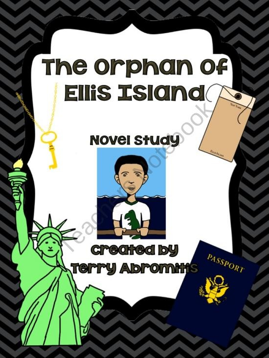 the orphan of ellis island book report