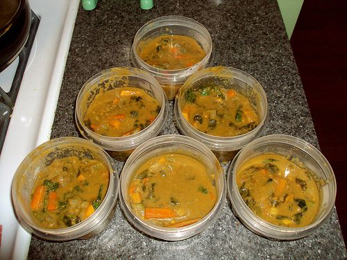 Senegalese Peanut Stew with Spinach and Sweet Potatoes