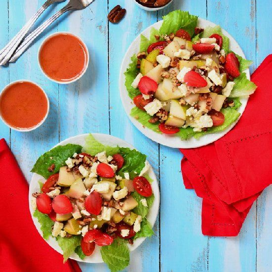 Pear Pecan Feta Salad. Quick salad which will stimulate all your taste ...