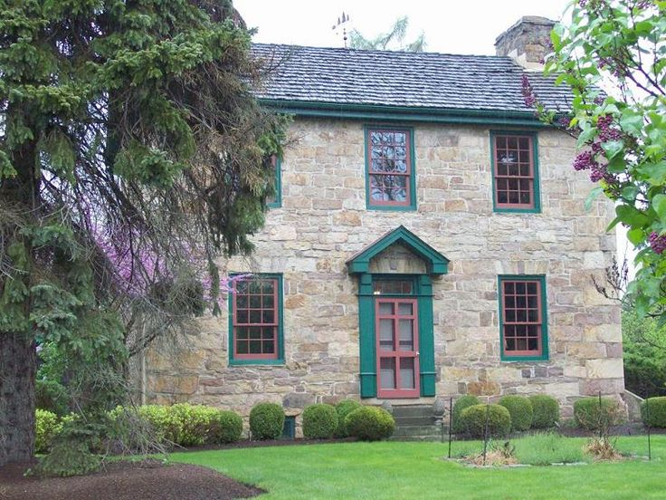 Homes 1700 Stone Colonial Home Architecture Historical