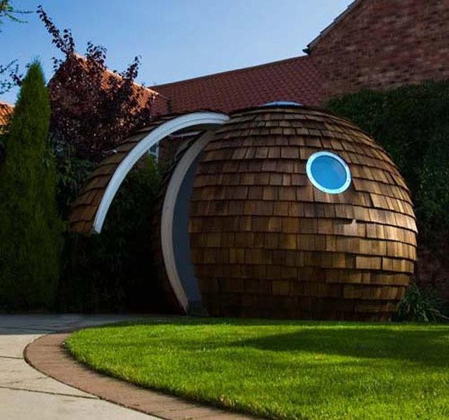 futuristic home office garden design mybestplaces