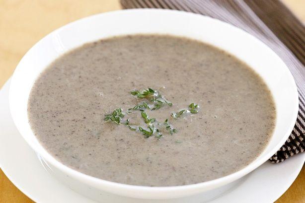 Mushroom soup | Winter warmers | Pinterest